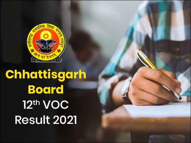 Chhattisgarh Board 12th VOC Result 2021