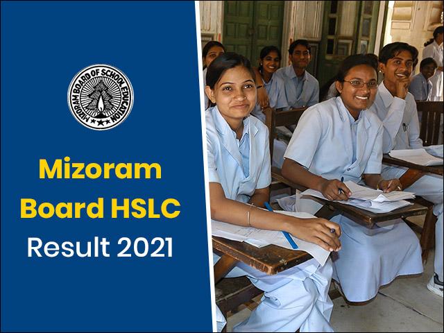 Mizoram Board HSLC Result 2021