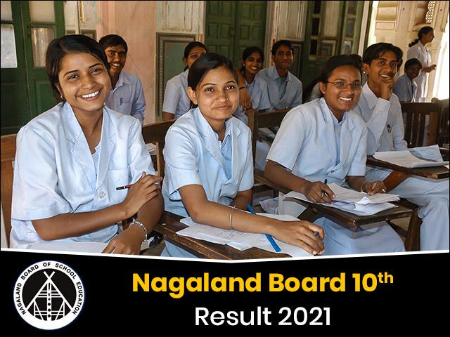 Nagaland Board 10th Result 2021