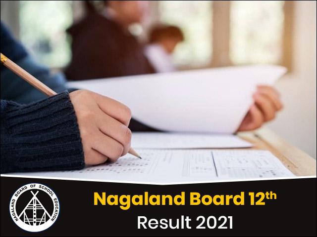 Nagaland Board 12th Result 2021