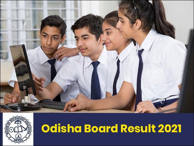 Odisha Board Result 2021