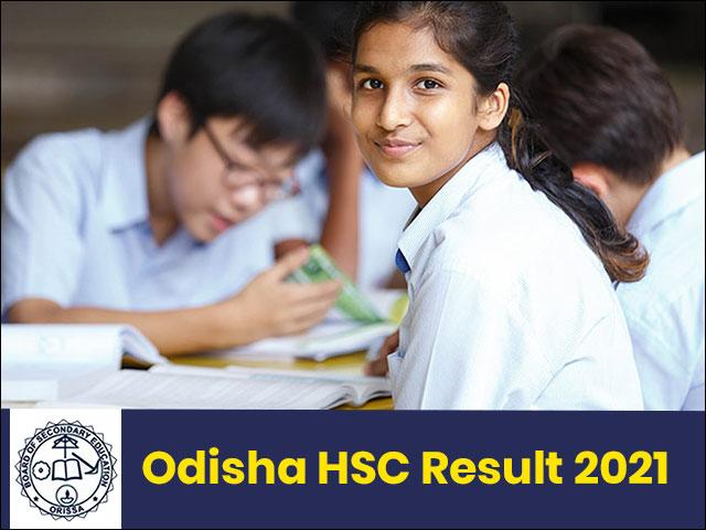 Odisha Board HSC Result 2021