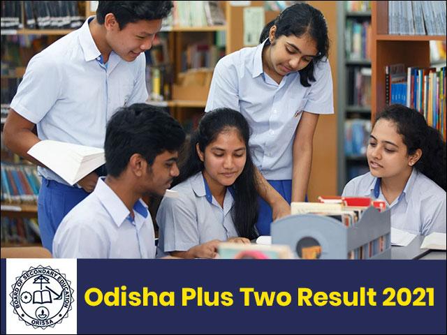 Odisha Board Plus Two Result 2021