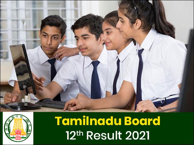 Tamilnadu Board 12th Result 2021
