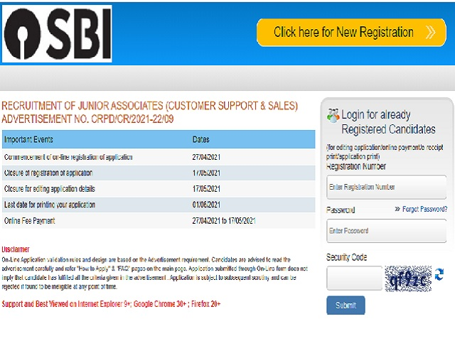 Apply Over 5000+ Vacancies @sbi.co.in, Check Application Link, Eligibility & Details Here