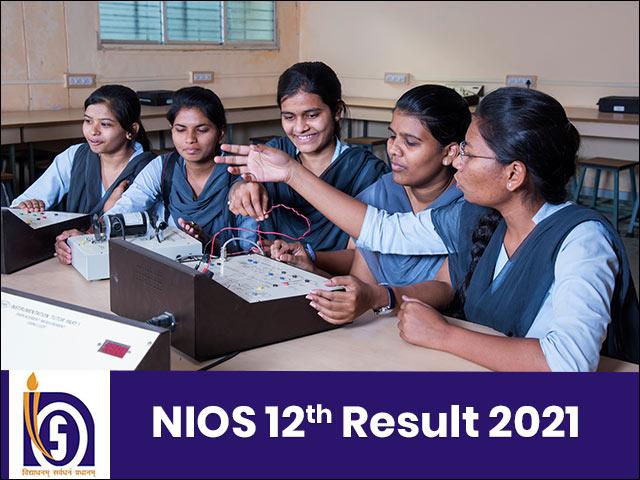 NIOS 12th Result 2021
