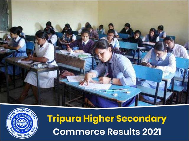 Tripura Board Higher Secondary Commerce Result 2021