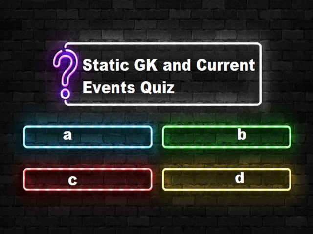 Static GK and Current Events Questions and Answers: 30 April 2021