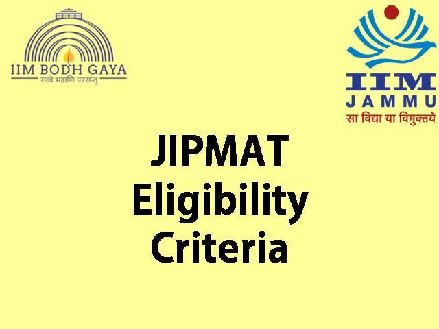 JIPMAT 2021 Eligibility criteria