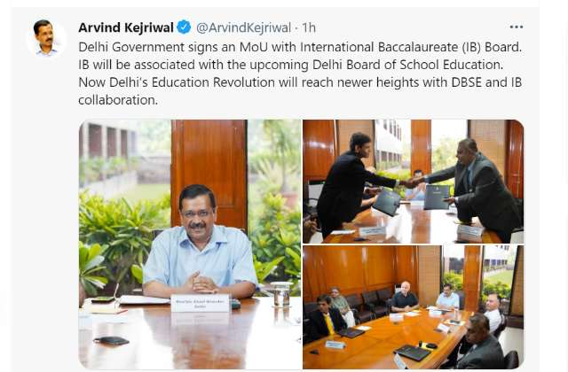 Delhi Government Signs MoU with International Baccalaureate Board For Delhi  Board of School Education