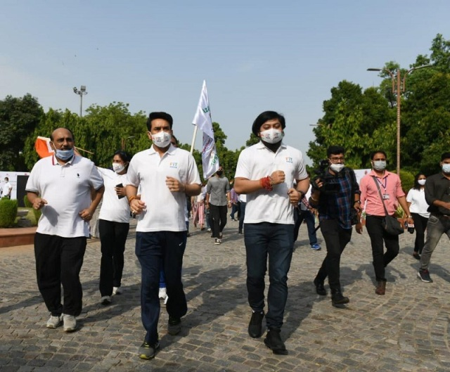 Fit India Freedom Run as part of Independence