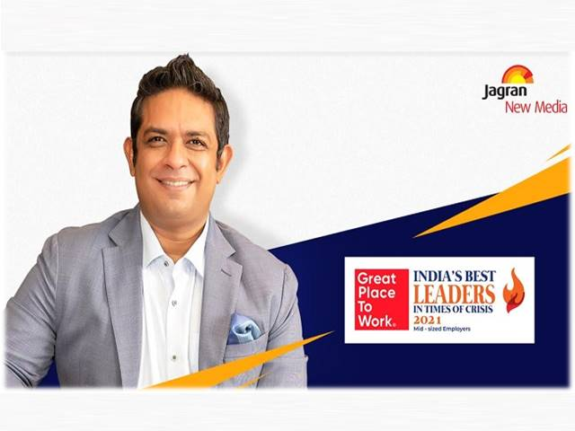 Jagran New Media's CEO Bharat Gupta - India's best leaders in 'Times of Crisis 2021'