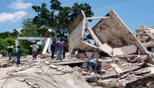 Haiti earthquake: Death toll in massive quake jumps to over 1200