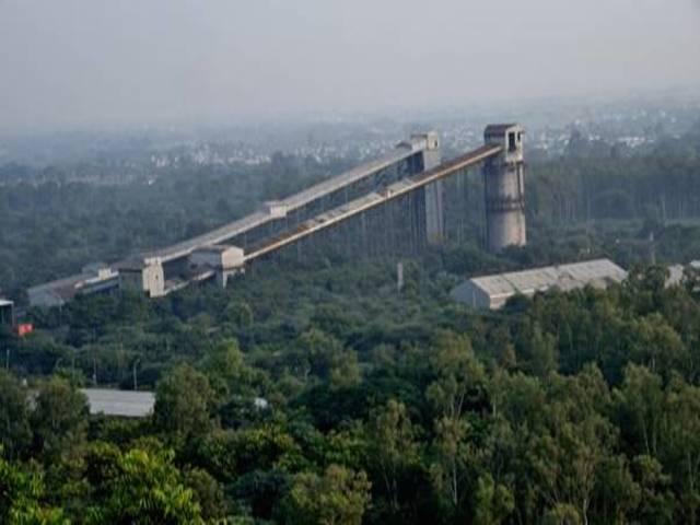 Plantation around Northern Coalfields Limited, Source: PIB
