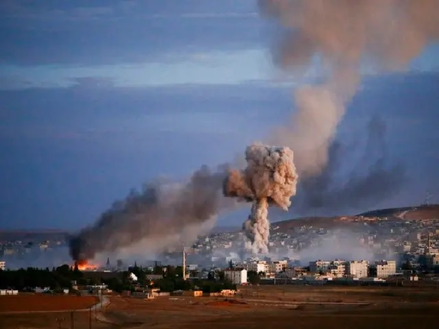 Israel attack on Syria