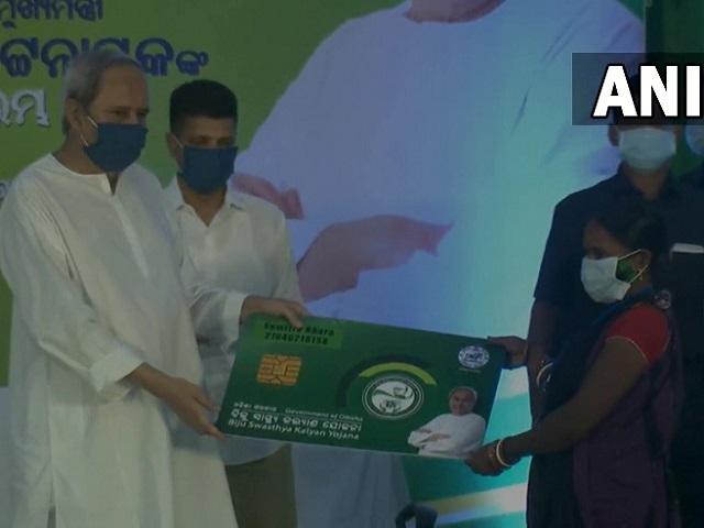 Biju Swasthya Kalyan Yojana cards launched