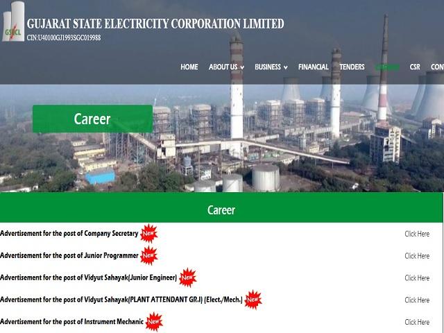 Gujarat State Electricity Corporation Ltd (GSECL) Recruitment 2021: Apply Vidyut Sahayak Posts