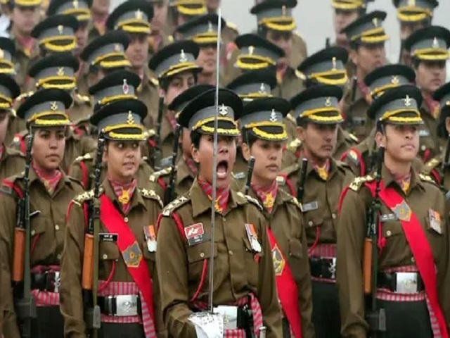 Indian Army women officers, Source: PTI