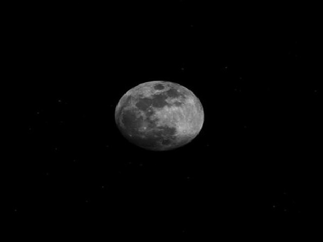 Solar driven change on moon