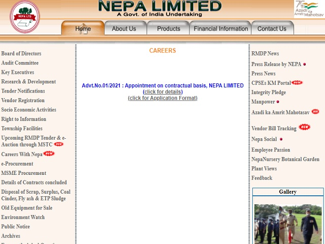 NEPA Limited Recruitment 2021: Apply Civil Engineer, DCS/QCS Operator, Paper Machine Operator & Other Posts