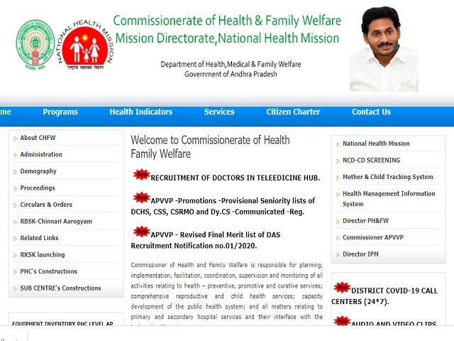 NHM AP Recruitment 2021: Apply General Physician, Medical Officer and other Posts