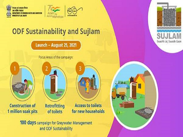 SUJALAM Campaign launched to create ODF plus villages