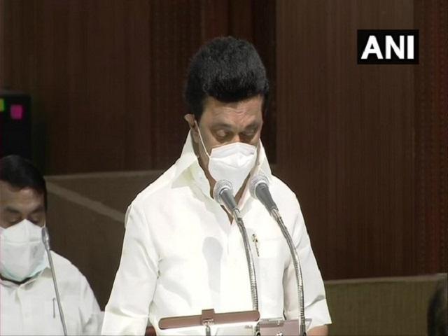 Tamil Nadu Chief Minister MK Stalin