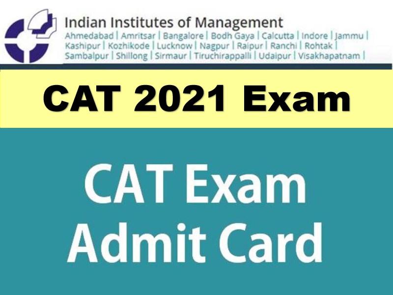 CAT 2021 Admit Card