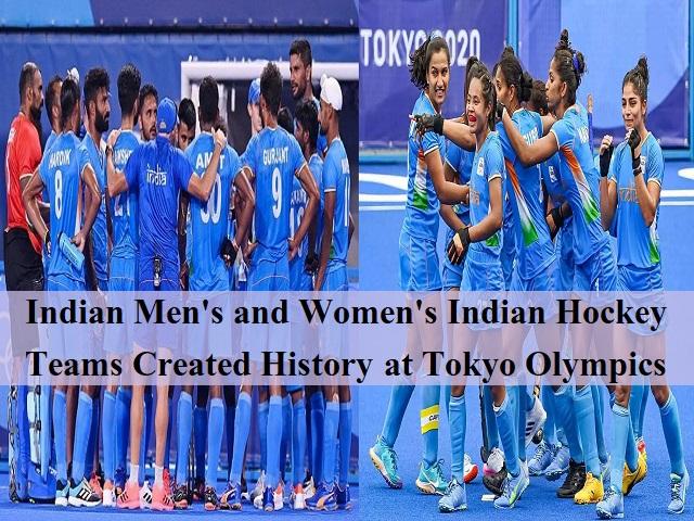 Indian Men's and Women's Hockey Teams Created History at Tokyo 2020 Olympics