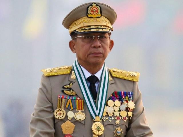 Myanmar Military Leader