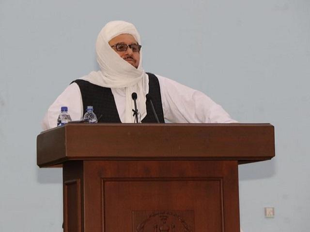 Taliban Higher Education Minister Shaikh Abdul Baqi Haqqani