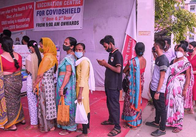50% eligible adults in India vaccinated with at least one COVID-19 vaccine dose: Health Minister