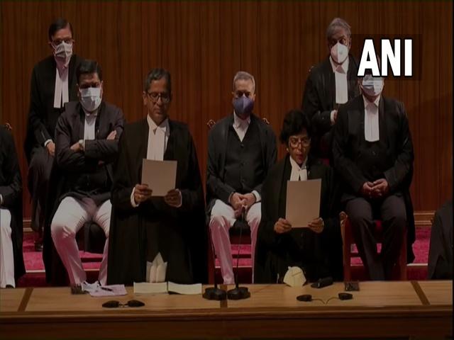 Supreme Court 9 new judges oath ceremony, Source: ANI