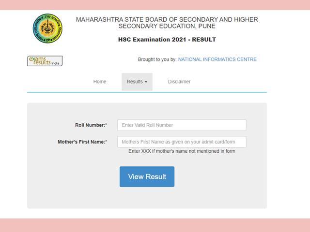 Maha HSC Result 2021 DEclared