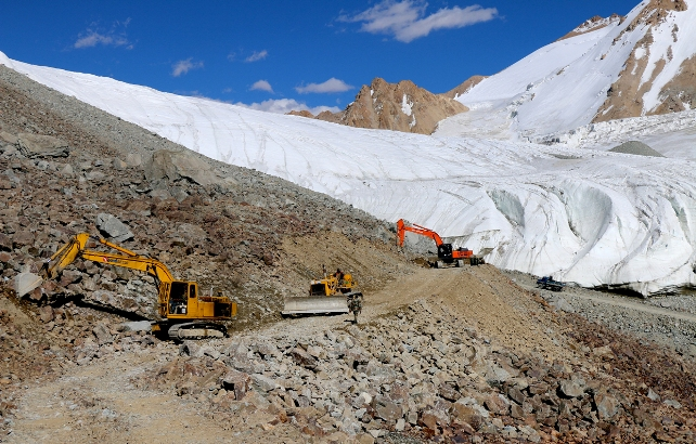 BRO constructs world's highest motorable road in Ladakh