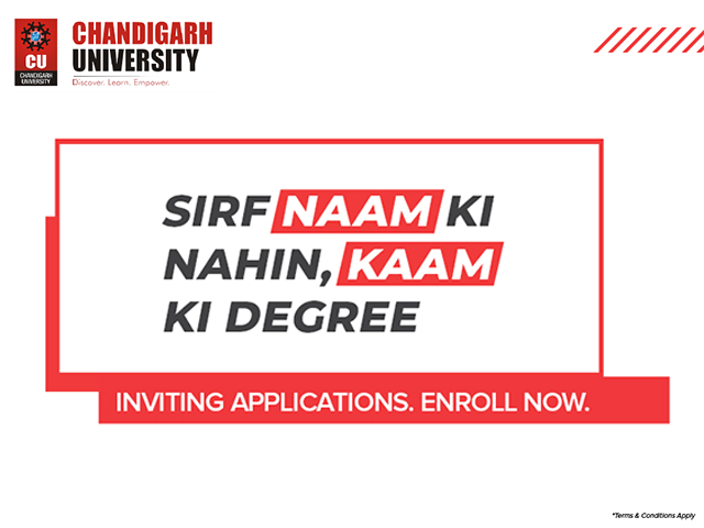 Get a #KaamkiDegree: Chandigarh University online degree programs focus on employability
