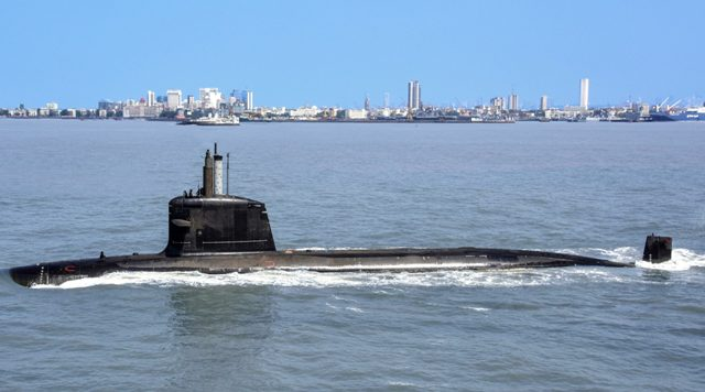 Indian Navy receives third Scorpene Submarine, to be commissioned as INS Karanj
