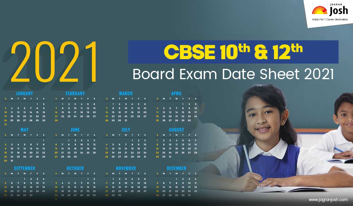 CBSE 10th & 12th Board Exam Date Sheet 2021: 2 February