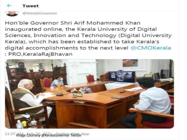 Kerala Governor Digital University