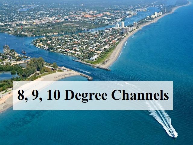 8, 9, 10 Degree Channel