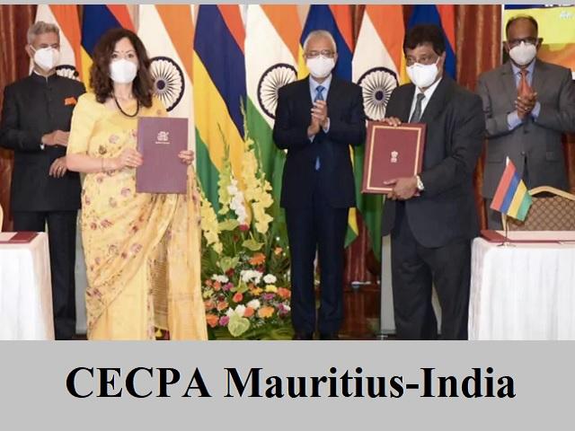 CECPA Mauritius-India