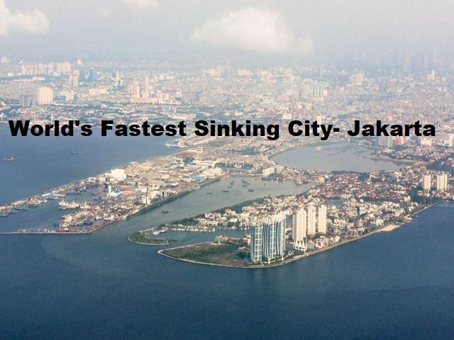 World's fastest sinking city