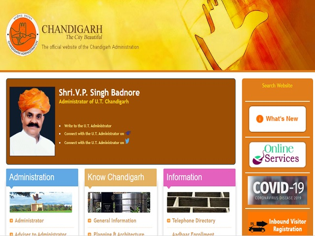 Apply Online @chandigarh.gov.in from 8 March