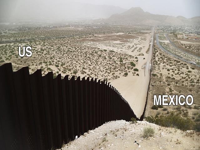 Border Wall   Image credit: BBC