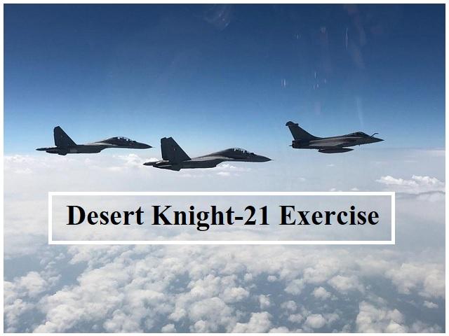 Desert Knight-21 Exercise