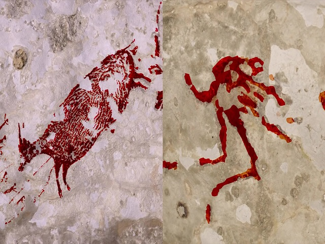 Sulawesi Cave Painting