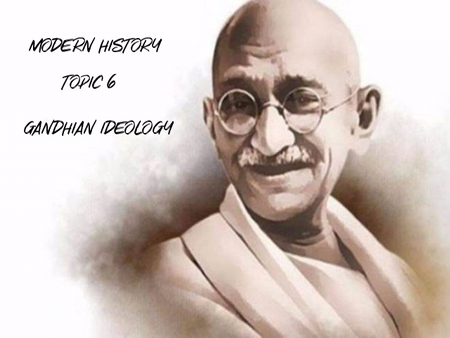 UPSC IAS Prelims Important Questions on Modern History Gandhian Thoughts and Ideology