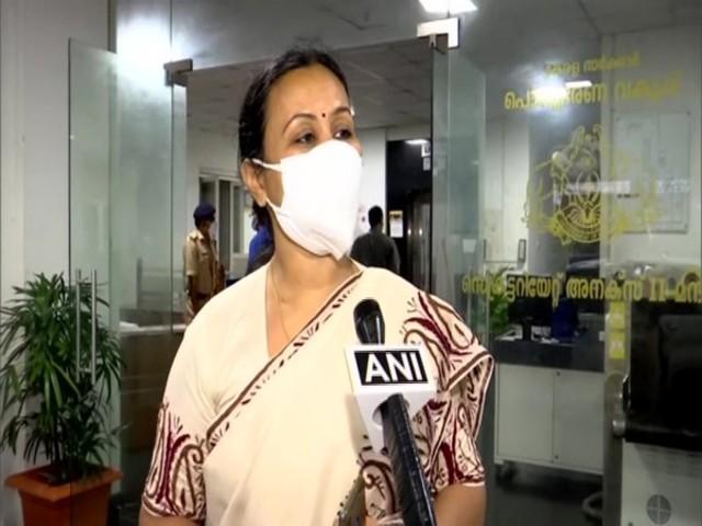 Kerala Health Minister Veena George, Source: ANI