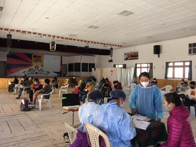 COVID-19 vaccination in Ladakh
