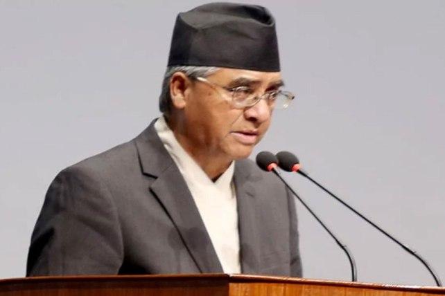 Sher Bahardur Deuba sworn in as the new PM of Nepal
